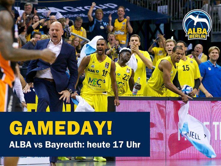 Willkommen im #Gameday ALBA-Nation. Bis nachher! by albaberlin