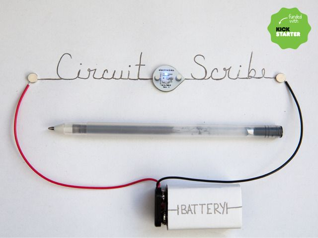 Backed Circuit Scribe