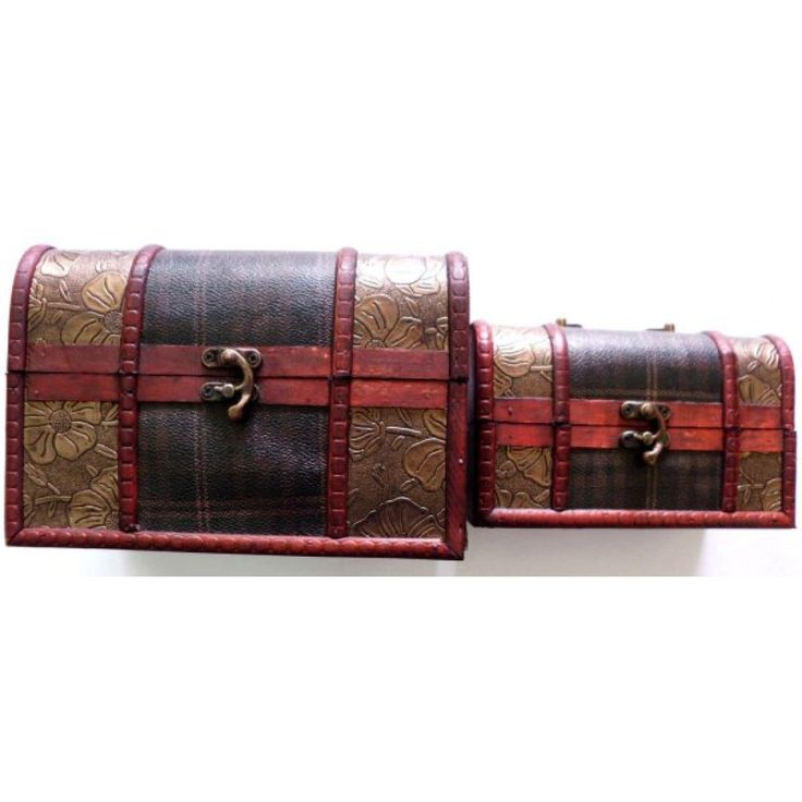 Geschenkbox aus Holz 3er Set aus Großhandel und Import