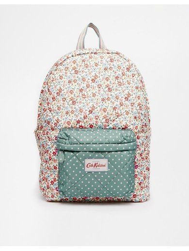 Cath Kidston Quilted Backpack - Cream