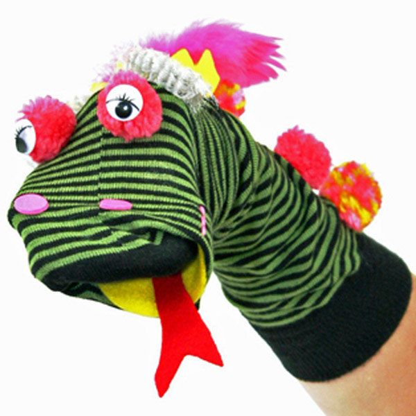 Funk Monster Sock Puppet | Craft Ideas & Inspirational Projects | Hobbycraft