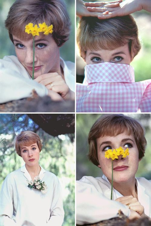 Julie Andrews ~ practically perfect in every way!                                                                                                                                                     More