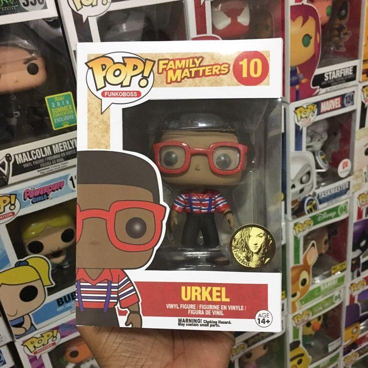 Custom Funko Funko Pop! TV Steve Urkel From Family Matters! 1/1 Piece!