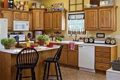 1000 ideas about yellow country kitchens on pinterest