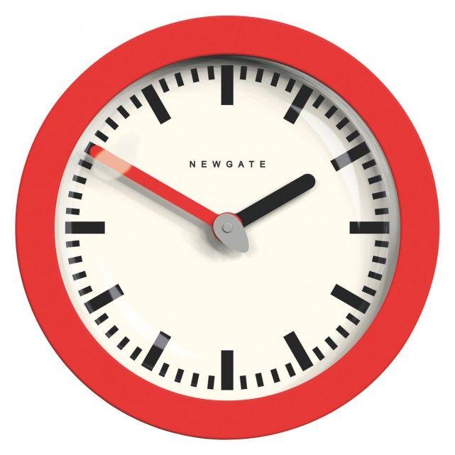 ANDROMEDA Red wall clock
