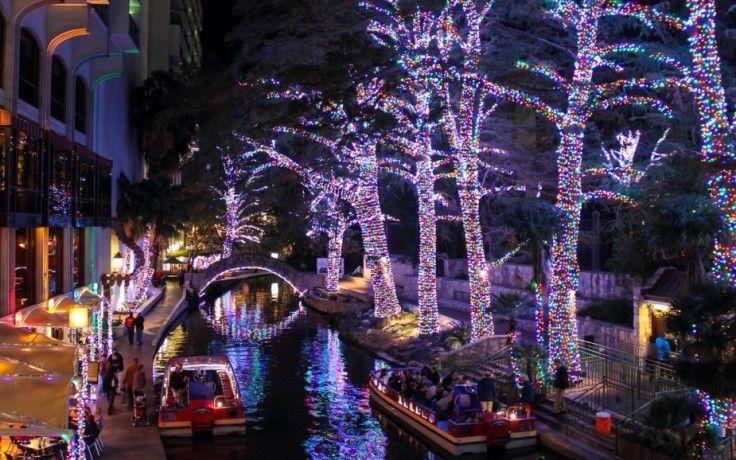 san antonio riverwalk christmas lights pictures Google