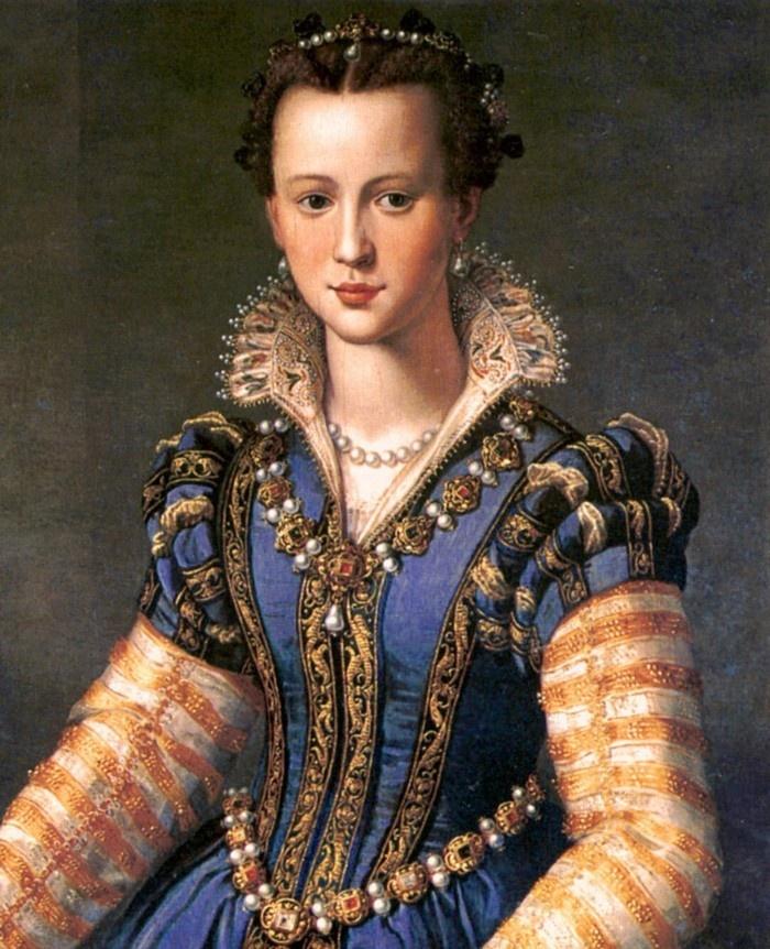 Maria de' Medici, painting - Florence
