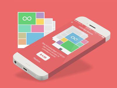 Clipup Freemium Screen