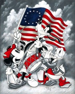 "Disney Fine Art ""March of Independence"""