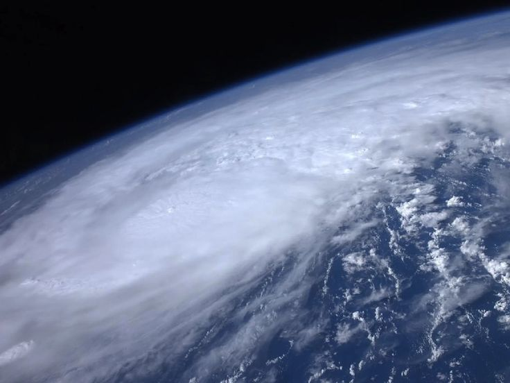 HURRICANE IRENE SEEEN FROM SPACE  >>>>  High above the Earth from aboard the International Space Station, astronaut Ron Garan snapped this image of Hurricane Irene as it passed over the Caribbean on Aug. 22, 2011. As of Thursday, Aug. 25, Irene was expected to hug the East Coast, possibly making landfall near New York City over the weekend.