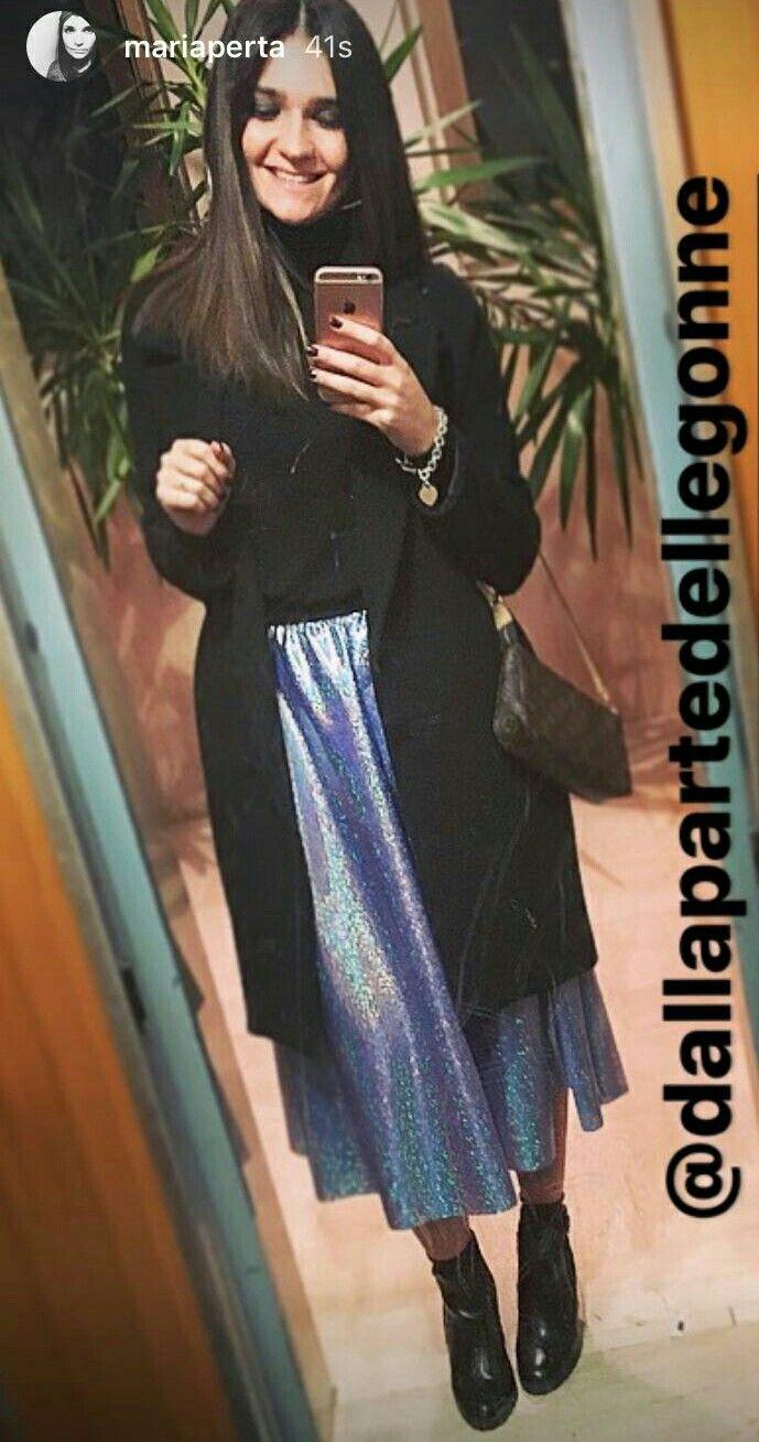Shiny outfit #dallapartedellegonne