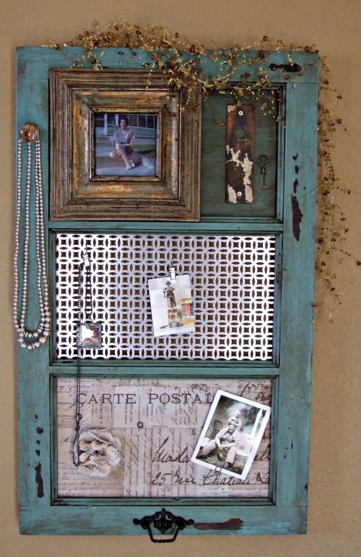 Best 25 window frame crafts ideas on pinterest window for Vintage picture frame ideas
