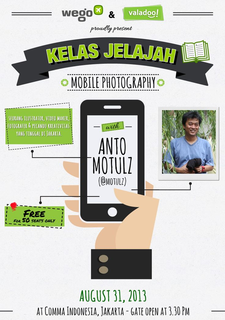 Coming Soon: Kelas Jelajah 3 Mobile Photography Tips for Travel Lads