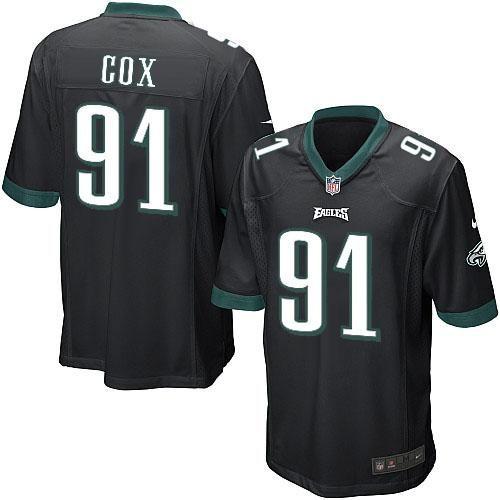 Nike NFL Philadelphia Eagles #91 Fletcher Cox Limited Youth Black Alternate Jersey Sale