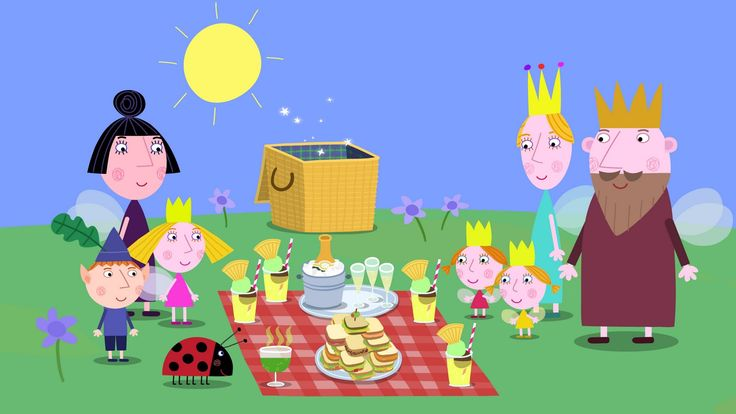 picnic - Ben & Holly's Little Kingdom