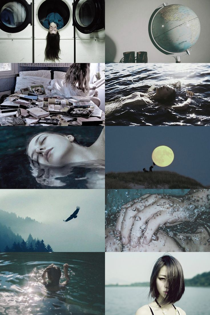 aquarius aesthetic (requested) more here // request here ...