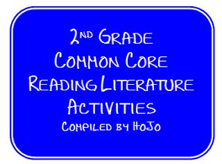 FREE compiled list of resources for 2nd Grade Common Core Reading Literature Standards!