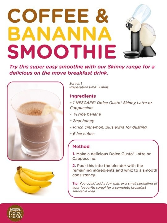 Dolce gusto smoothie