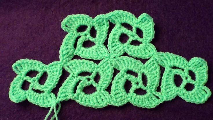 Безотрывное вязание крючком. Танцующие квадратики