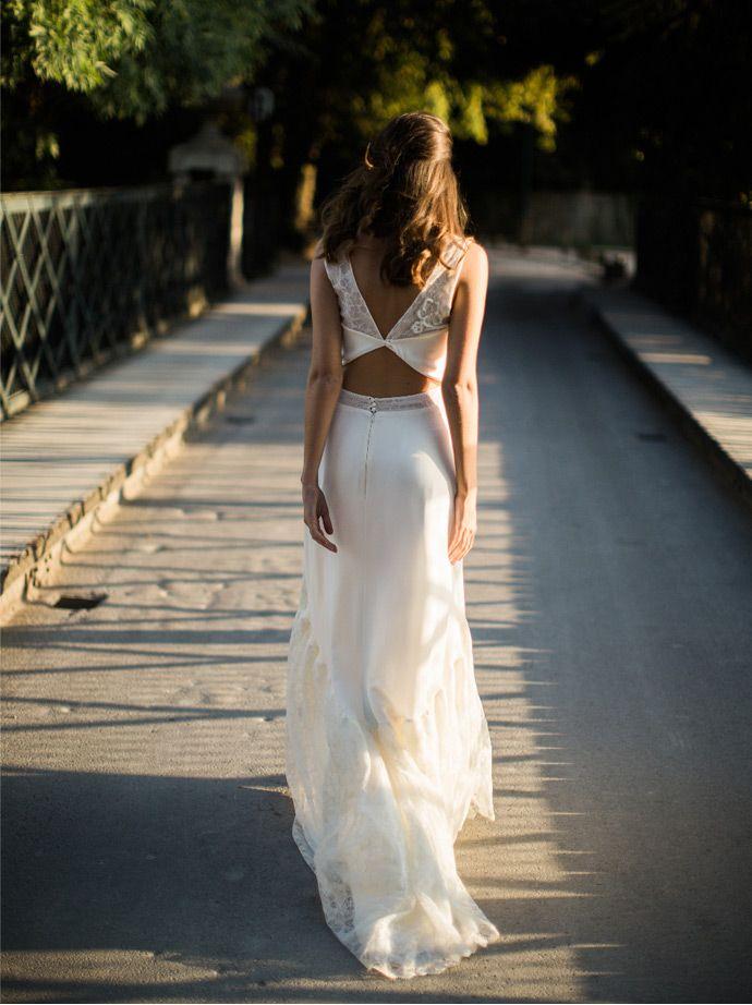 Les robes de mariée de Sophie Sarfati - Collection 2016 | Photographe : Yann Audic / Lifestories Wedding | Donne-moi ta main - Blog mariage