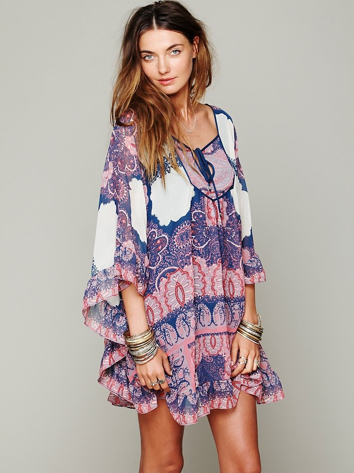 Free People Marla Dreams Dress. Floaty, pretty, perfect for spring.