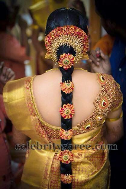 bride-in-mango-work-heavy-blouse.jpg (417×625)