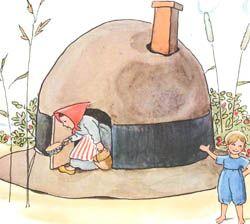 Hattstugan by Elsa Beskow (one of my favorite books as a kid)