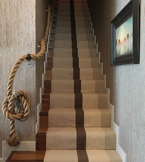 nautical rope bannister