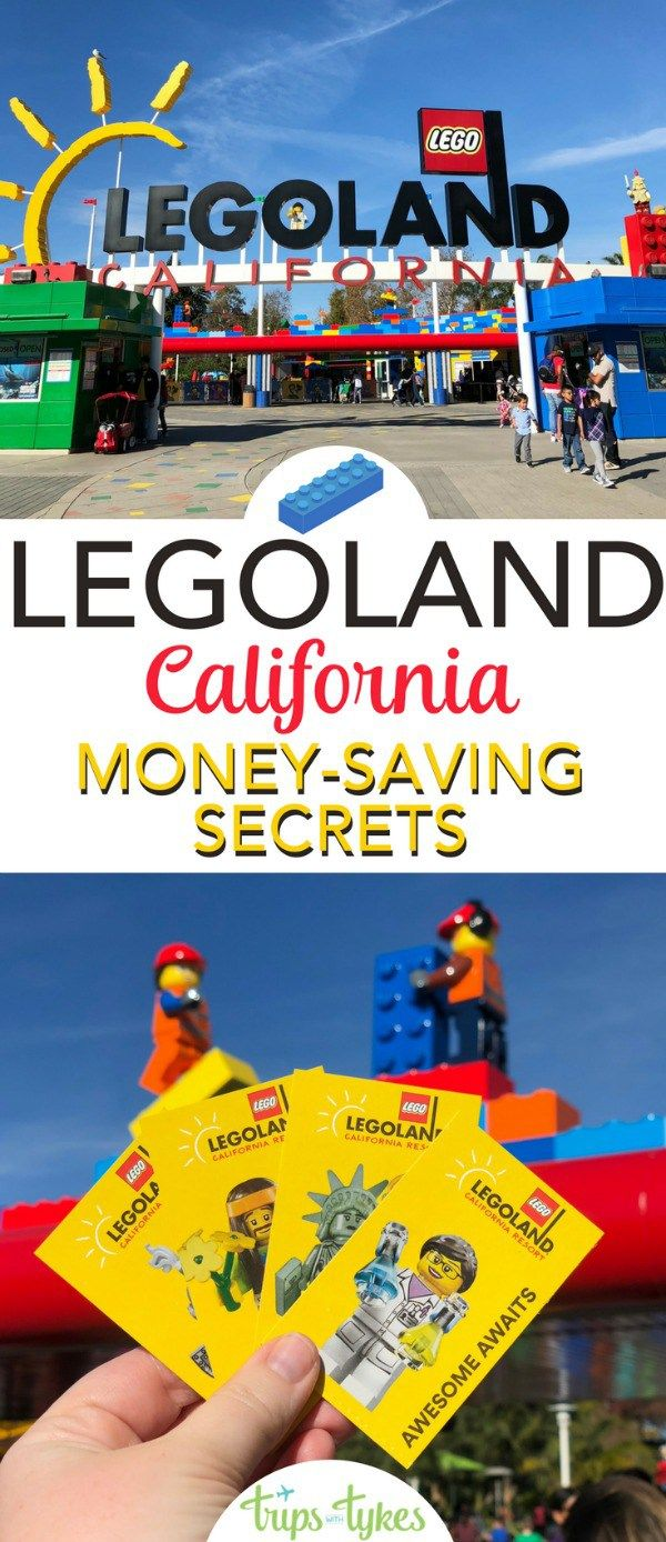 Visiting Legoland California on a budget? Money-saving tips and secrets to make the most of your theme park visit in Carlsbad. Hotels, food, coupons, discounts, and more. #legoland #legolandcalifornia #budgettravel #visitcalifornia #themepark