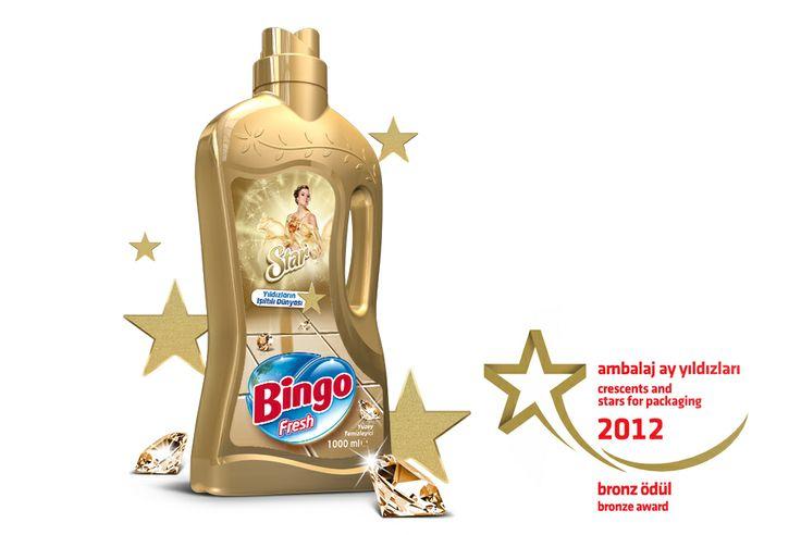 Award-wining packaging design prepared for Stars of the homes.  #packaging #bottle #label #design #awarded