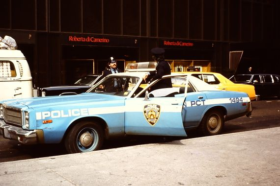1980 Plymouth Fury Police Car