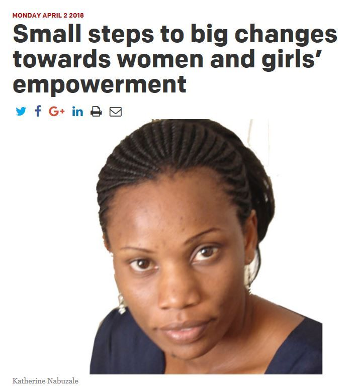Despite all the talk and effort towards women empowerment and girl support  movements, there is need to scale up on various fronts.