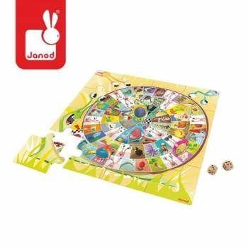 Podłogowa gra Wyścig Ślimaków - zabawki dla dzieci