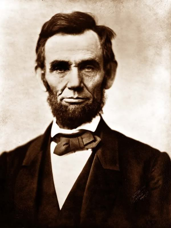 President Abraham Lincoln seems to have been a determined and thoughtful man. I admire his principles, honesty, and courage. He also stands in my mind as an even more remarkable man because of all he accomplished despite of a crippling depression.
