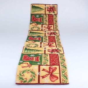 Textilní běhoun Vánoční mozaika