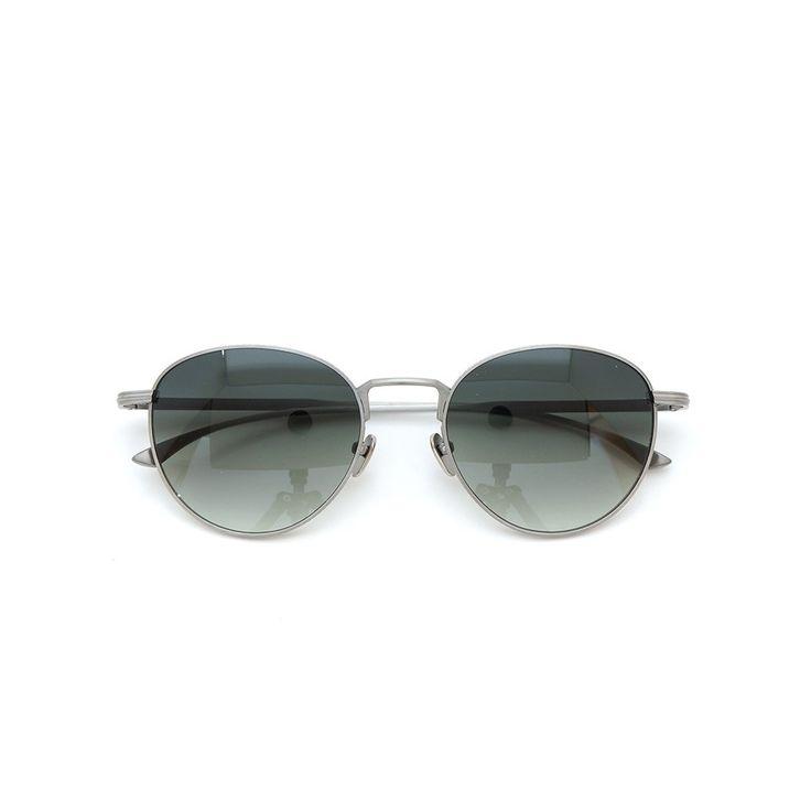 MASUNAGA designed by Kenzo Takada |Sunglasses|  Dent de lion #32 AT-SILVER 53size 100-Limited-edition | PonMegane #kenzotakada #sunglass #masunaga #ponmegane
