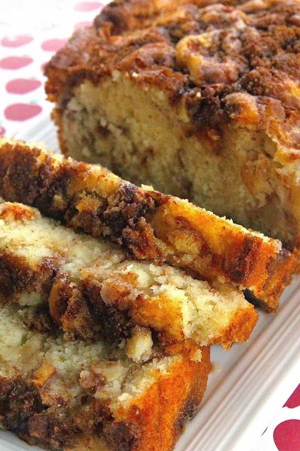 Apple Cinnamon White Cake ~ A buttery white cake that comes together in minutes but tastes like you spent all day making it. Adding apples and cinnamon with brown sugar in layers makes this cake into an autumn delight. A scoop of ice cream is especially good with this cake