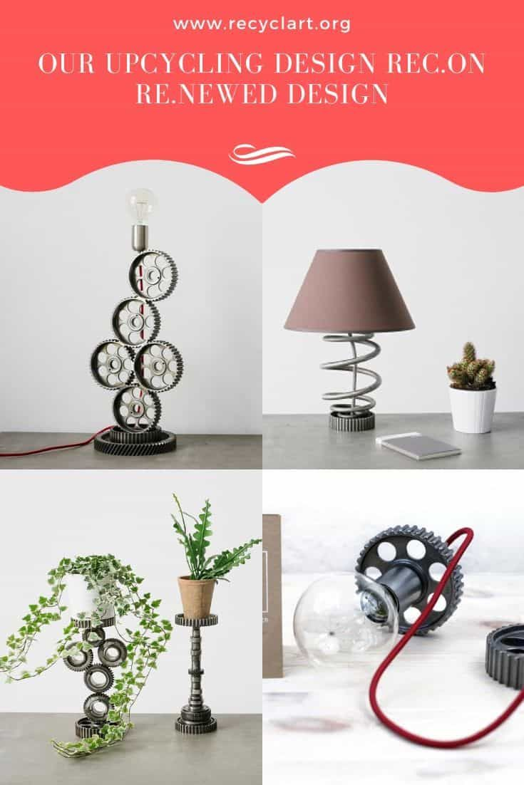 Our Upcycling Design Rec On Re Newed Design Recyclart Design Upcycle Functional Design