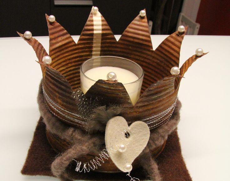 11 besten kronen aus dosen bilder auf pinterest blechdosen kronen und wiederverwertung. Black Bedroom Furniture Sets. Home Design Ideas