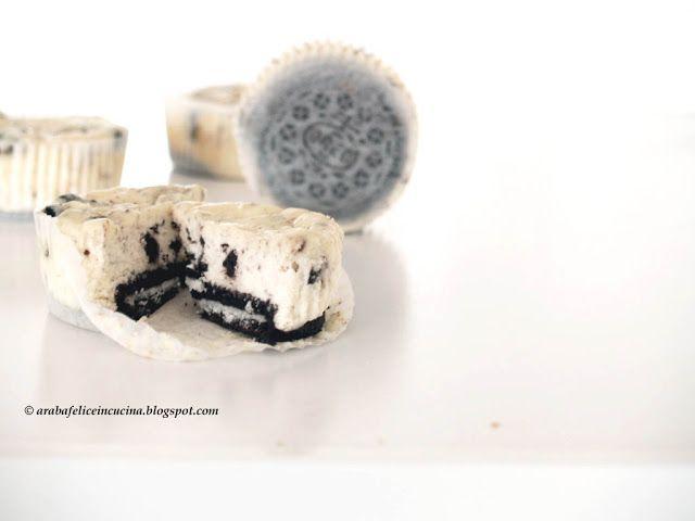 Arabafelice in cucina!: Mini Oreo Cheesecakes