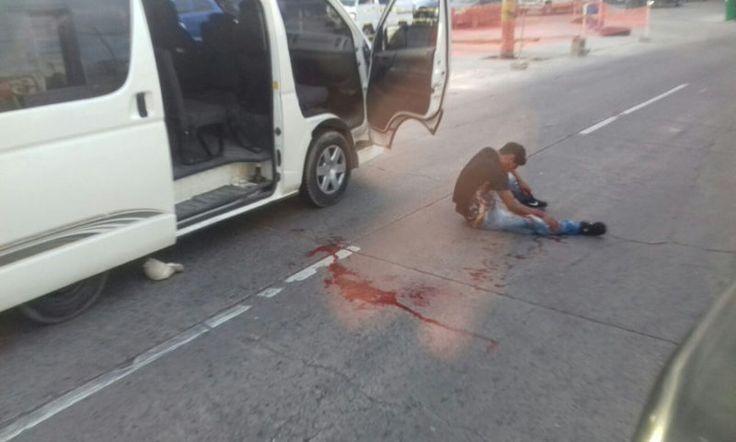 Valiente pasajero frustra asalto a unidad de transporte urbano