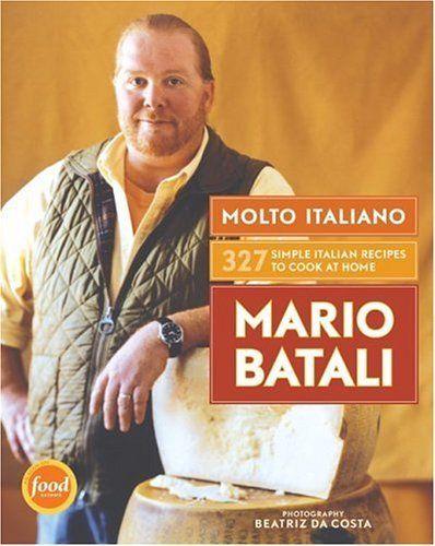 Molto Italiano: 327 Simple Italian Recipes to Cook at Home by Mario Batali et al., http://www.amazon.co.uk/dp/0060734922/ref=cm_sw_r_pi_dp_SLmJtb0VFA7GF
