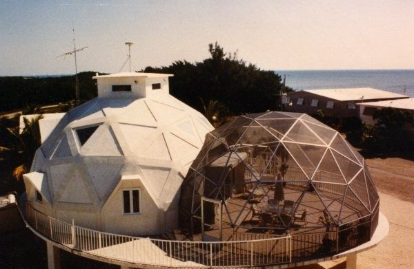 Connecticut screens and porches on pinterest - The geodesic dome in connecticut call of earth ...