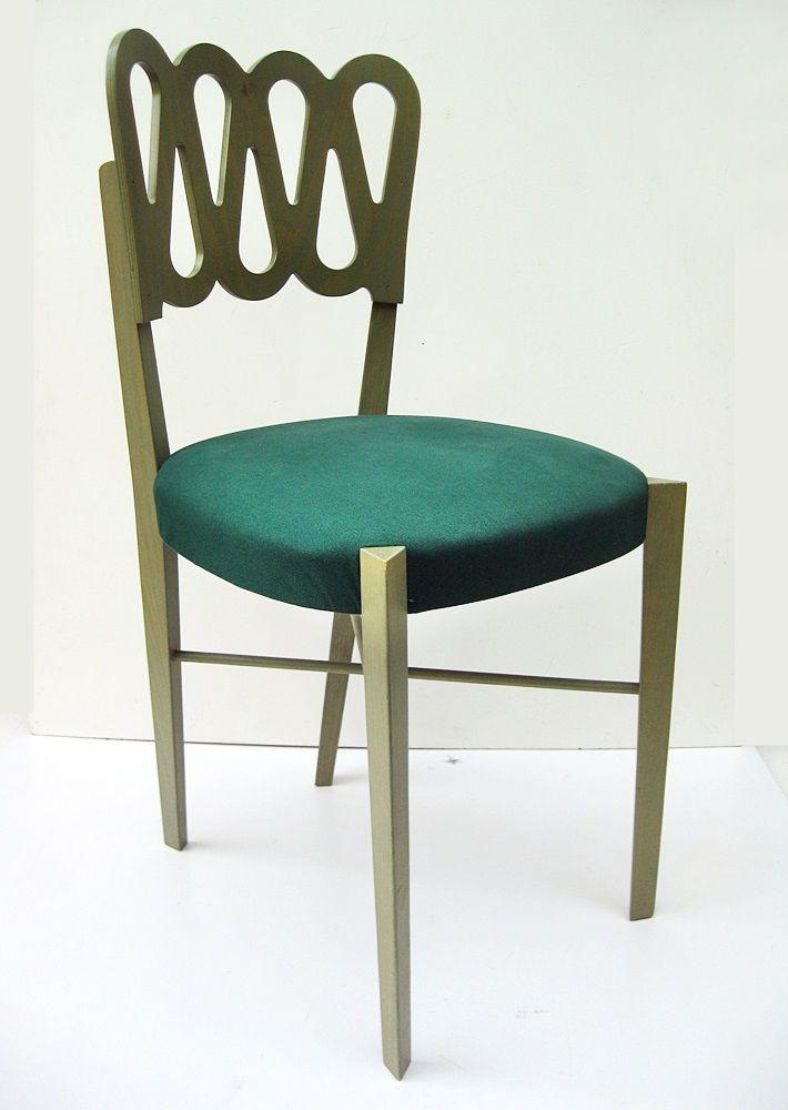 Sedia MONTINA 969 design GIO PONTI 1936. Moderniste italian chair.Borsani,Parisi | eBay
