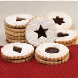 How to make Linzer Sandwich Cookies.