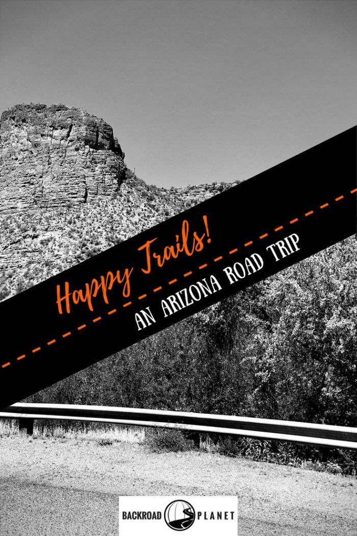Arizona Happy Trails is a themed road