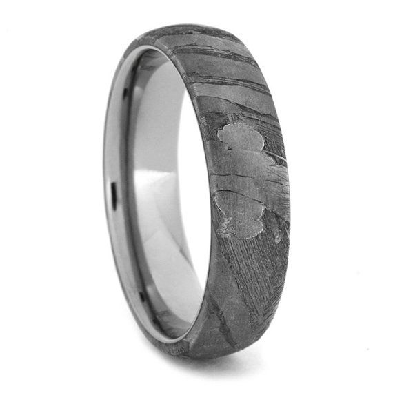 Hey, I found this really awesome Etsy listing at https://www.etsy.com/listing/209134184/titanium-ring-with-seymchan-meteorite