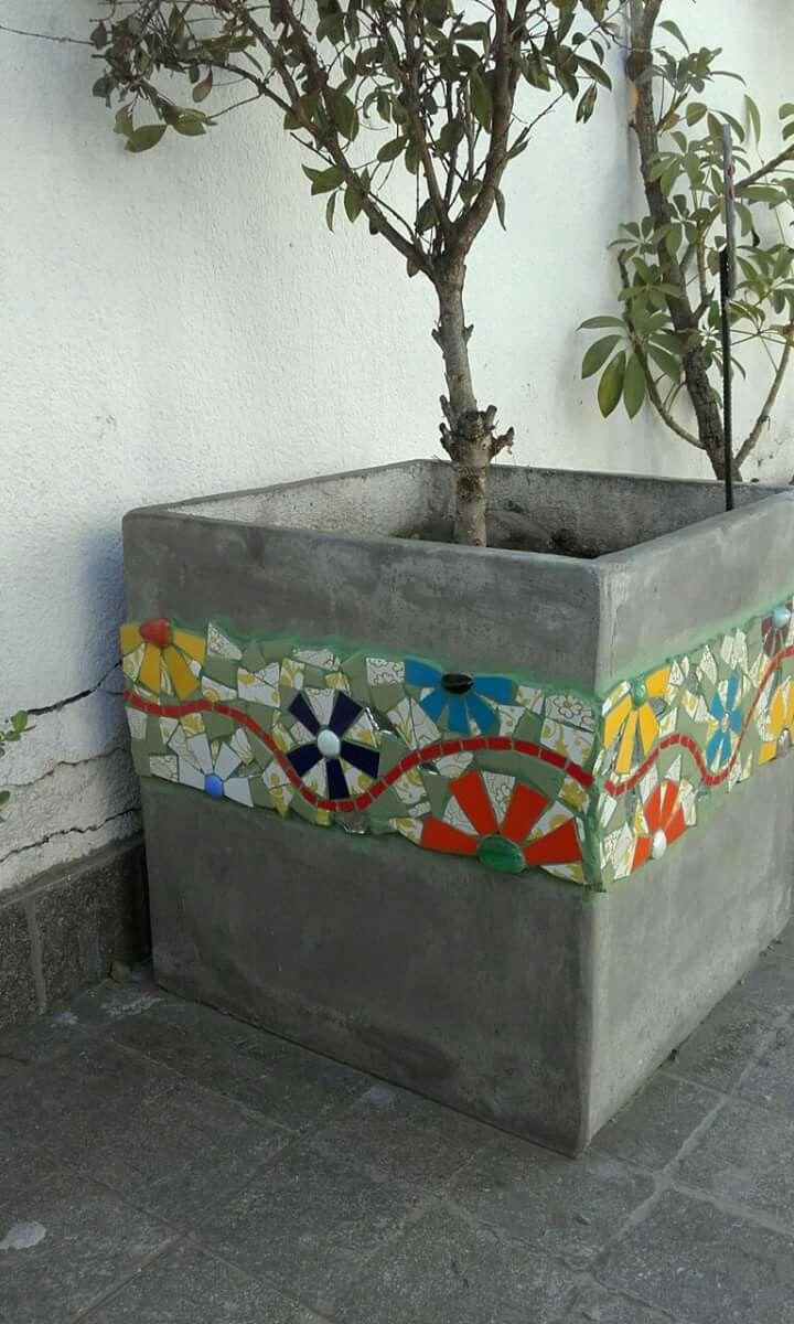 Masetero de Mosaico