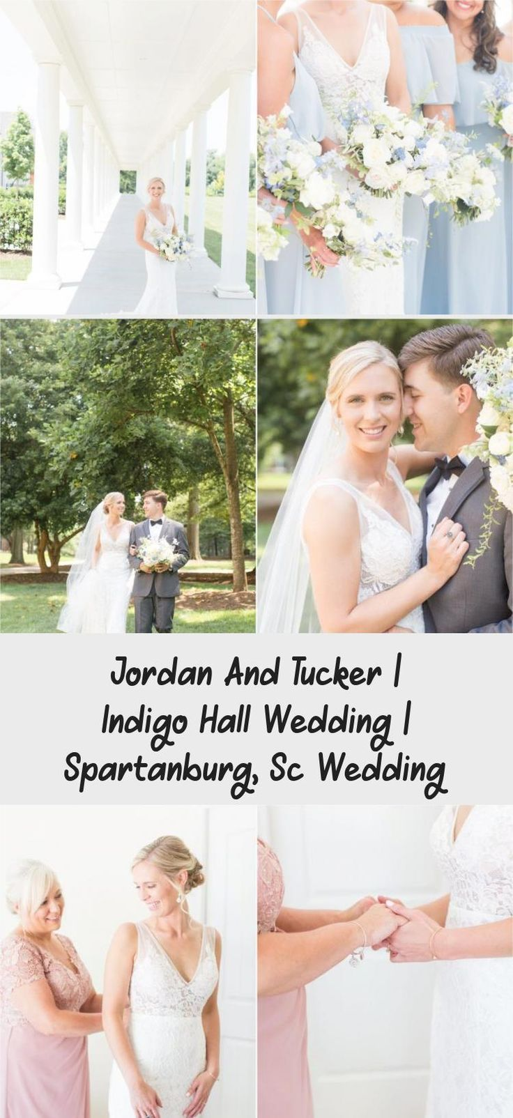 Indigo Hall Spartanburg Wedding | Greenville, SC Wedding Photographer | Christa Rene Photography #OffTheShoulderBridesmaidDresses #BridesmaidDressesShort #BridesmaidDressesTwoPiece #MaroonBridesmaidDresses #BridesmaidDressesMidi