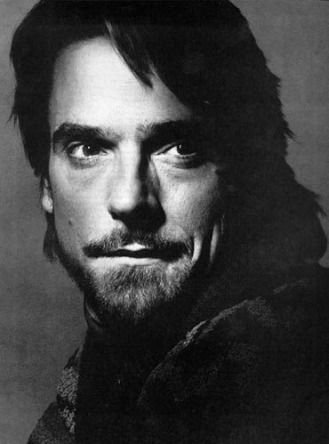 Jeremy Irons: another great British actor. Why do we always seem to play the best villians? lol